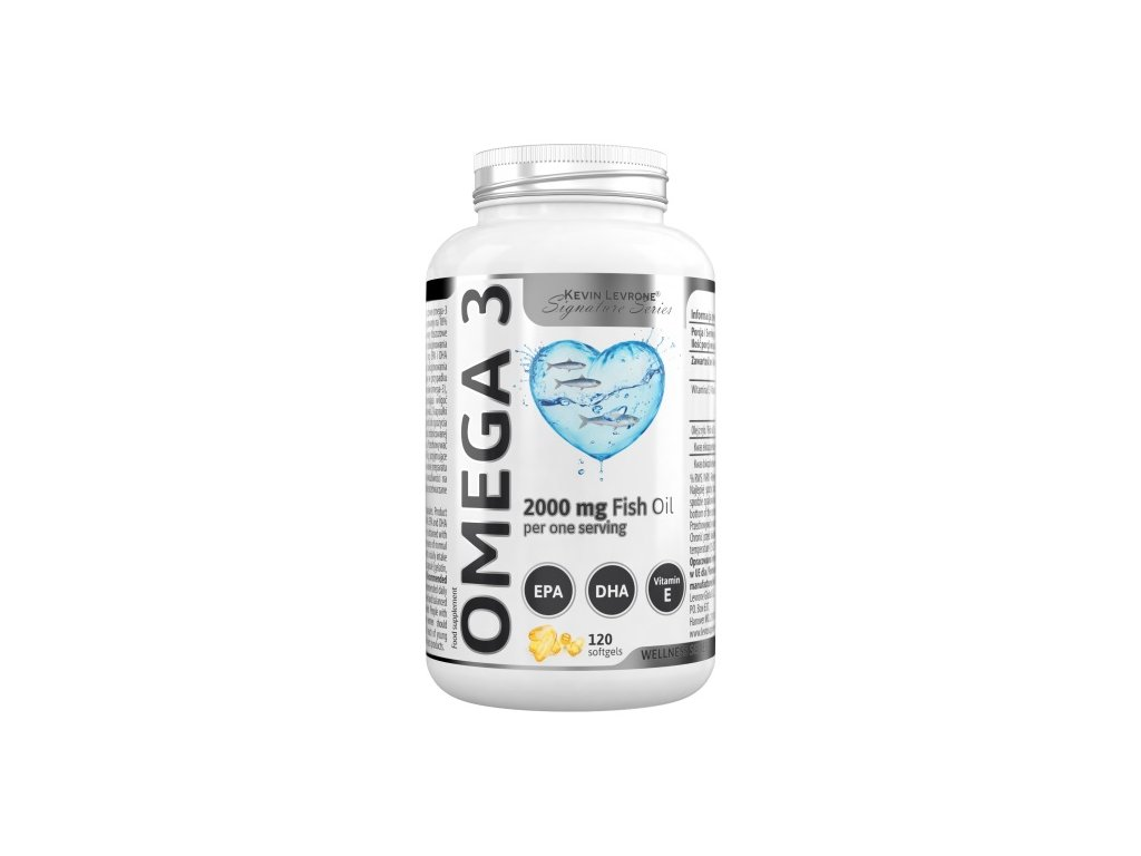 Kevin Levrone OMEGA 3 Fish Oil 2000mg 120cps