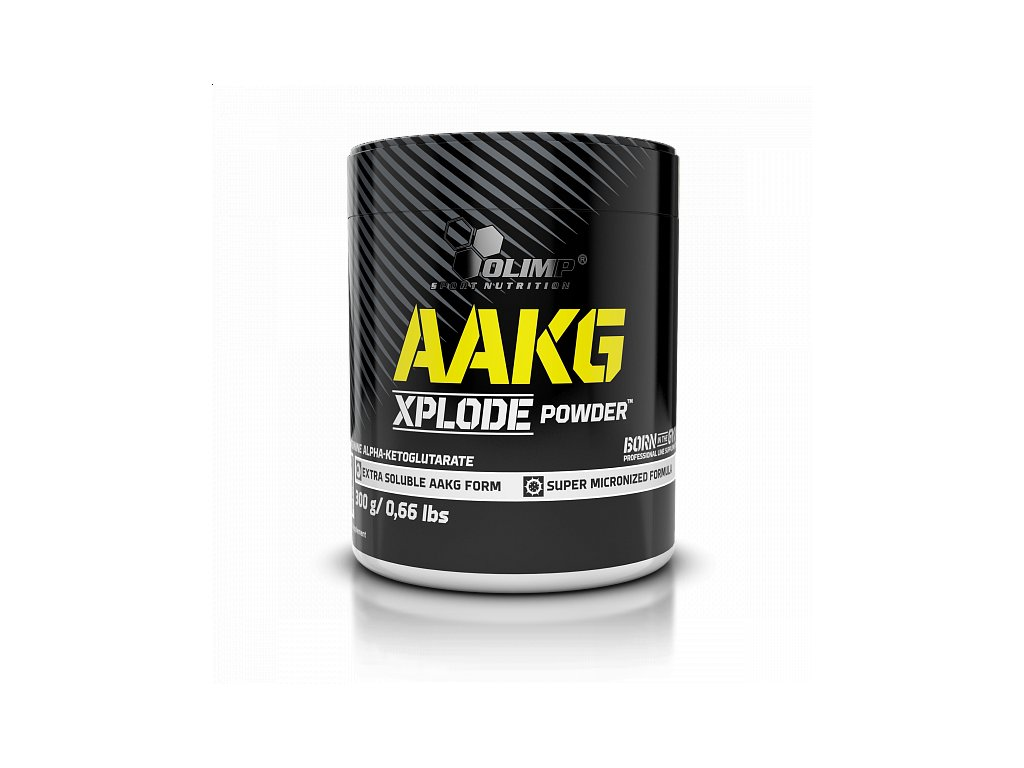 800x600 main photo OLIMP, AAKG XPLODE POWDER, ARGININE, ORANGE, 300 g