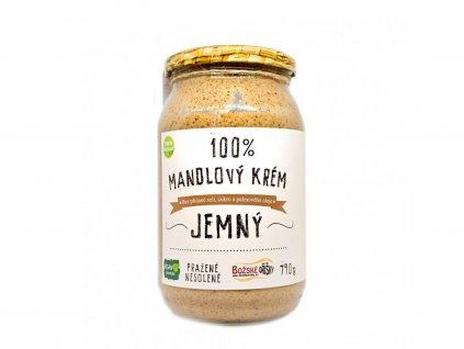 100% Mandlový krém - jemný 790g