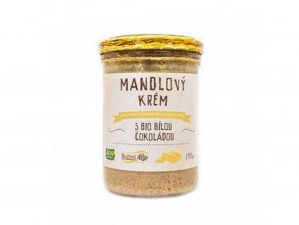 Mandlový krém s bílou čokoládou 390g