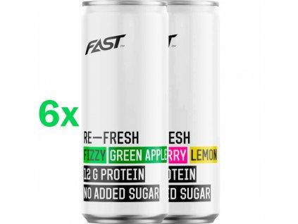 Fast RE-Fresh protein drink 6 x 330 ml