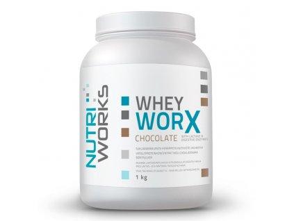 WheyWorx(chocolate)1kg NutriWorks