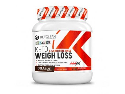 amix ketolean keto gobhb weight loss 240g