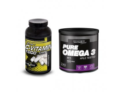 pure omega 3 vitamin C