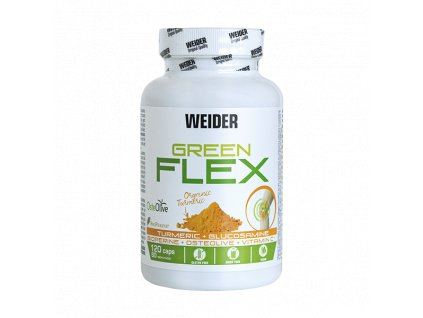 800x600 main photo weider green flex, 120 caps