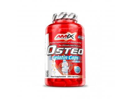 Amix OSTEO GELATIN + MSM 400 kapslí