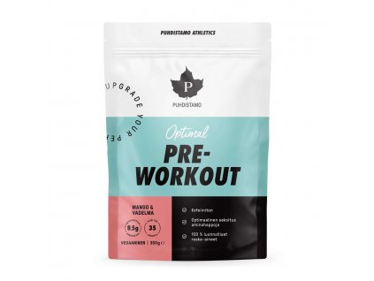 1.Optimal Pre Workout Mango Vadelma(1)