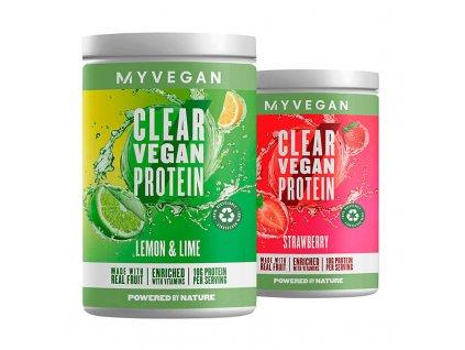 clear vegan mix