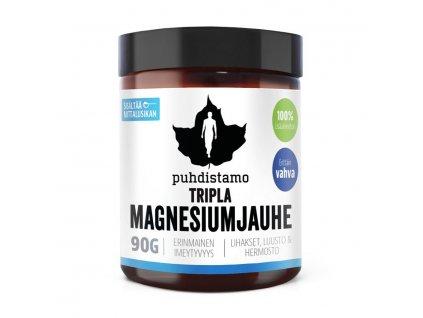 1.Trippla Magnesiumjauhe