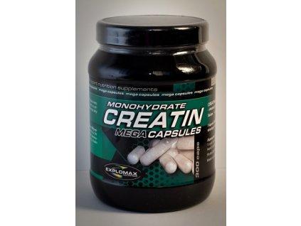 Explomax Creatin monohydrate Mega Capsules 500 kapslí