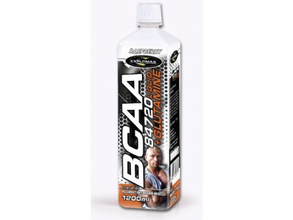 Explomax BCAA 84 720 Liquid + Glutamine 1200ml