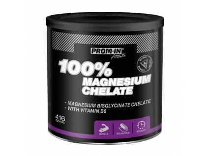 Prom-IN 100% magnesium chelate 416g  + ZDARMA N.O Assassins Pump 10g