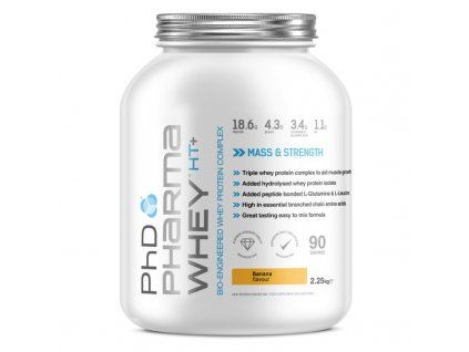 PhD Pharma whey HT + Omega3 banana