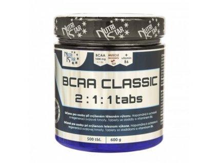 Nutristar BCAA CLASSIC 2:1:1 500 tablet