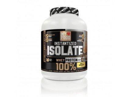 MYFOOD ISOLATE Whey Protein 2250 g  + ZDARMA tester produktu (protein, nakopávač, tyčinka)
