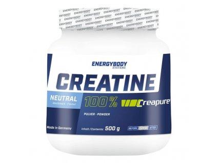 Creatine Creapure® 500g  + ZDARMA tester produktu (protein, nakopávač, tyčinka)