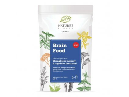 Brain Food Supermix 125g  + ZDARMA tester produktu (protein, nakopávač, tyčinka)