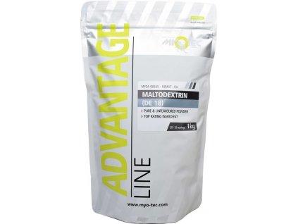Maltodextrin (DE18) 1kg  + ZDARMA tester produktu (protein, nakopávač, tyčinka)