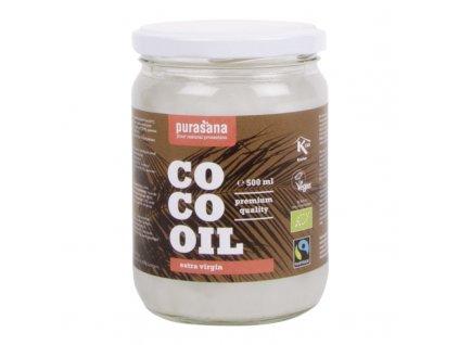 COCO Virgin Coconut Oil 500ml BIO