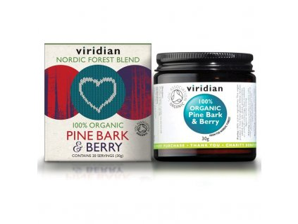 Pine Bark & Berry 30g Organic