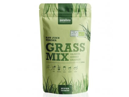 Juice Powder Grass Mix BIO 200g