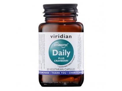 Synbiotic Daily + Cranberry 30 kapslí (Směs probiotik a prebiotik s brusinkovým extraktem)  + ZDARMA tester produktu (protein, nakopávač, tyčinka)