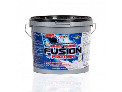 Amix WHEY PURE FUSION PROTEIN 4000g  + ZDARMA tester produktu (protein, nakopávač, tyčinka)