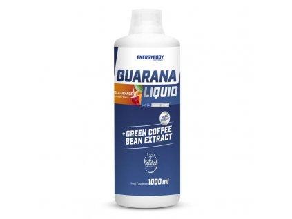Guarana Liquid 1000ml  + ZDARMA tester produktu (protein, nakopávač, tyčinka)