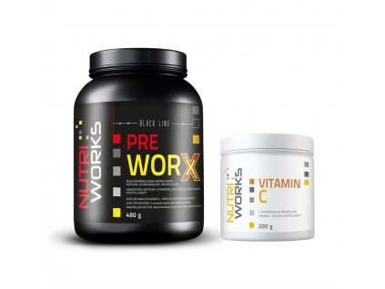 Pre Worx 480g boruvka vitaminC zdarma