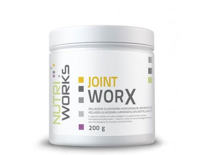 NutriWorks Joint Worx 200g  + ZDARMA tester produktu (protein, nakopávač, tyčinka)