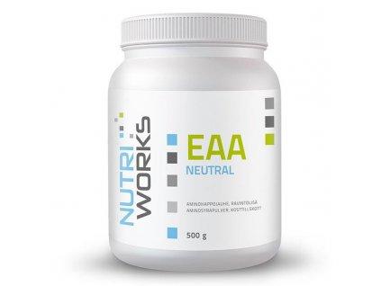 NutriWorks EAA 500g  + ZDARMA tester produktu (protein, nakopávač, tyčinka)