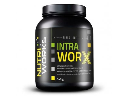 NutriWorks Intra Worx 540g  + ZDARMA tester produktu (protein, nakopávač, tyčinka)