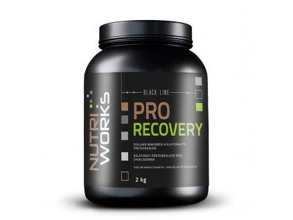 NutriWorks Pro Recovery 2000g  + ZDARMA tester produktu (protein, nakopávač, tyčinka)