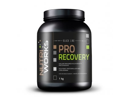 NutriWorks Pro Recovery 1000g  + ZDARMA tester produktu (protein, nakopávač, tyčinka)