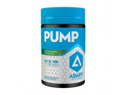 PUMP 80 kapslí  + ZDARMA tester produktu (protein, nakopávač, tyčinka)