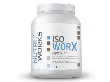 NutriWorks Iso Worx 1000g  + ZDARMA tester produktu (protein, nakopávač, tyčinka)