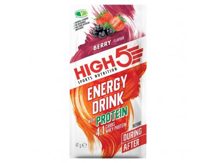 Energy Drink Protein 4:1 47g berry (ovoce)