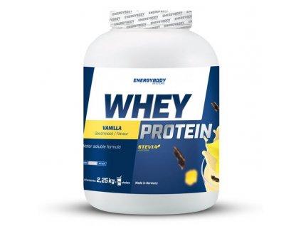 Whey Protein 2250g  + ZDARMA tester produktu (protein, nakopávač, tyčinka)