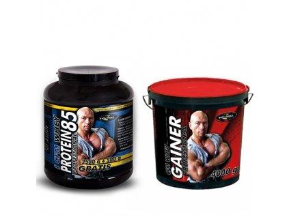 I CFM Whey Protein 85 Professional 3000g+CFM Whey Gainer Professional 4000g  + Dárek k objednávce zdarma