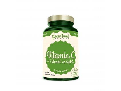 greenfood nutrition vitamin c extrakt ze sipku vegan caps 610172811