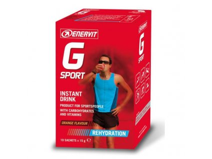 IsotonicDrinkPomeranc(GSport)10x15g enervit