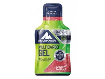 MULTIPOWER MULTICARBO ENERGY GEL maltodextrin - fruktóza 12x40 g