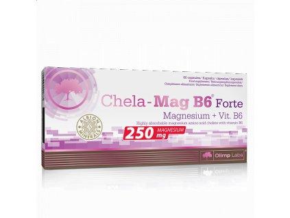 800x600 main photo Olimp, Chela Mag B6® Forte Magnesium+Vit.B6, 60 kapslí