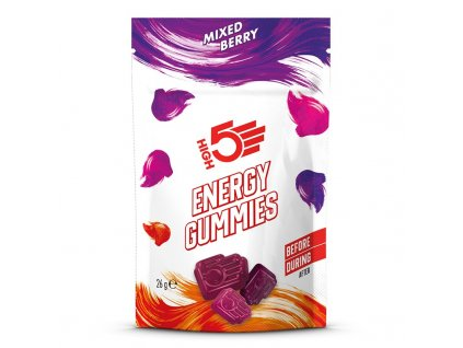 Energy gummies 26g (Mixed berries)