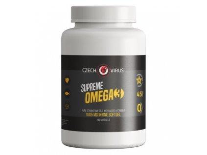 czech virus supreme omega 3 90kapsli