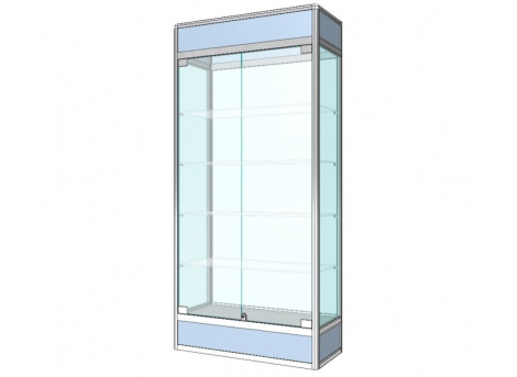Výstavní vitríny prosklené / skleněné