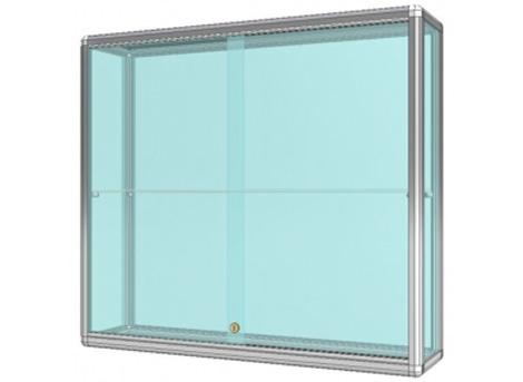 Závěsné vitríny prosklené / skleněné