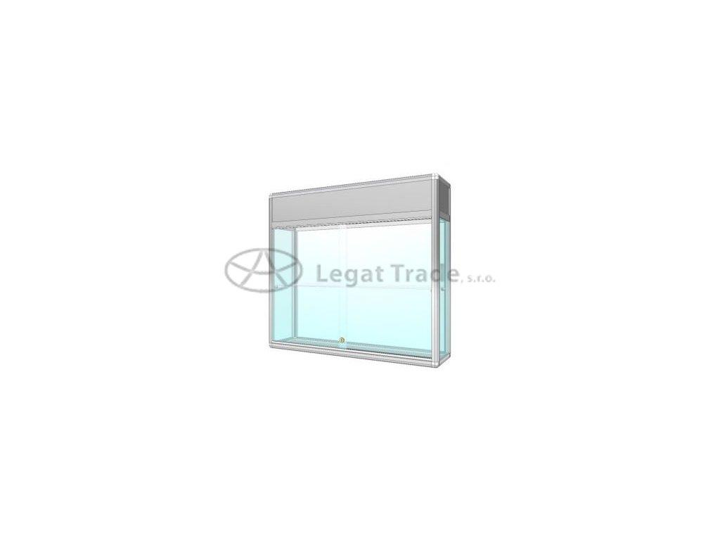 ZAV02K, ZAV02O ávěsná vitrína s informačním pruhem