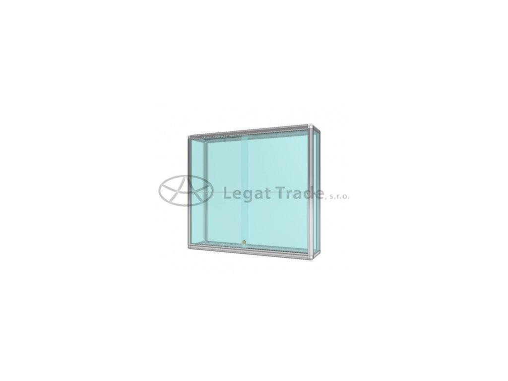 závěsné vitríny ologované