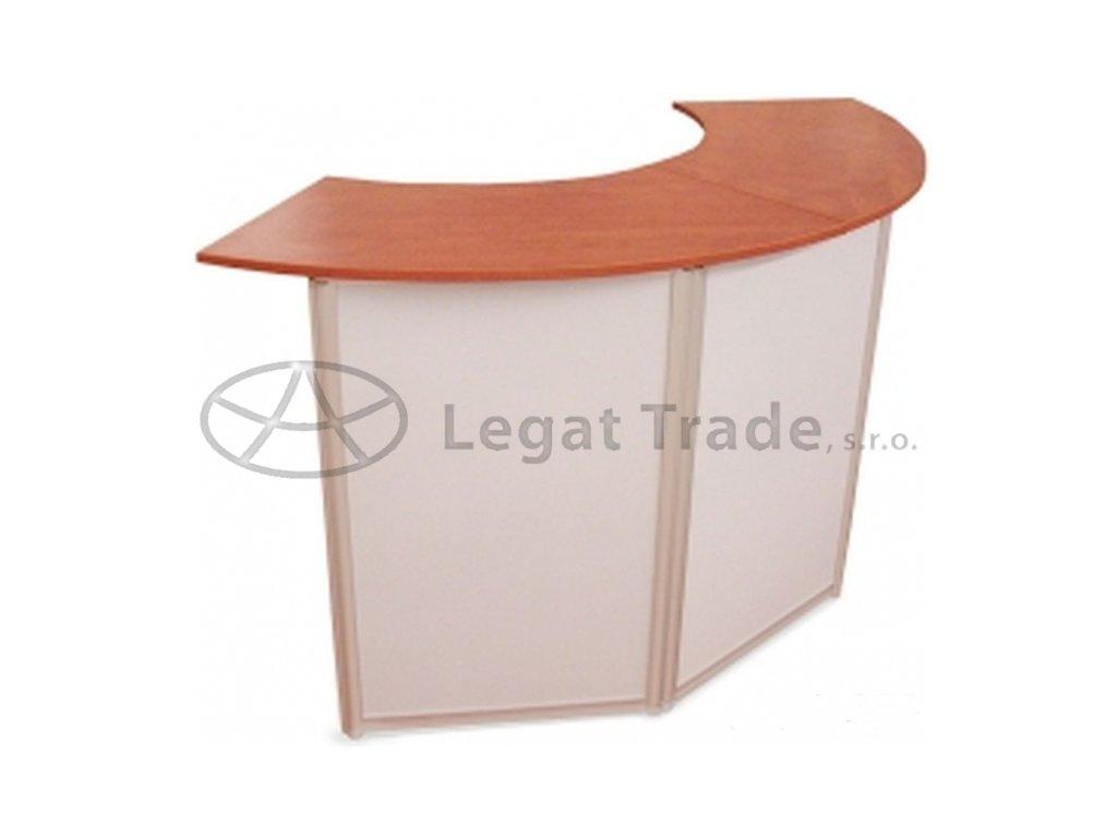 Prezentační a reklamní promo stolek 145 x 40 x 90 cm